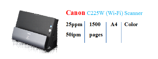 Canon-C225W(Wi-Fi)scanner